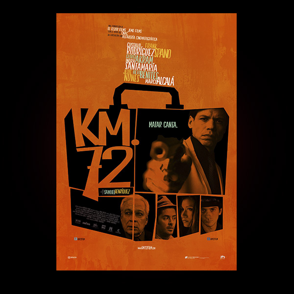 KM. 72 (SAMUEL HENRÍQUEZ, 2015). CARTEL ALTERNATIVO 2.